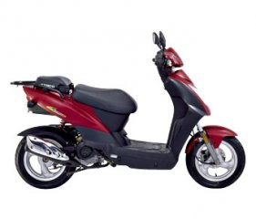 Car Hire Alonissos - Kymco 125