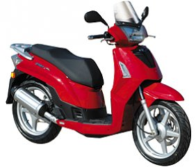 Car Hire Alonissos - Kymco people 50