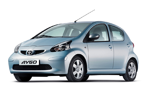 Car Hire Alonissos - toyota aygo